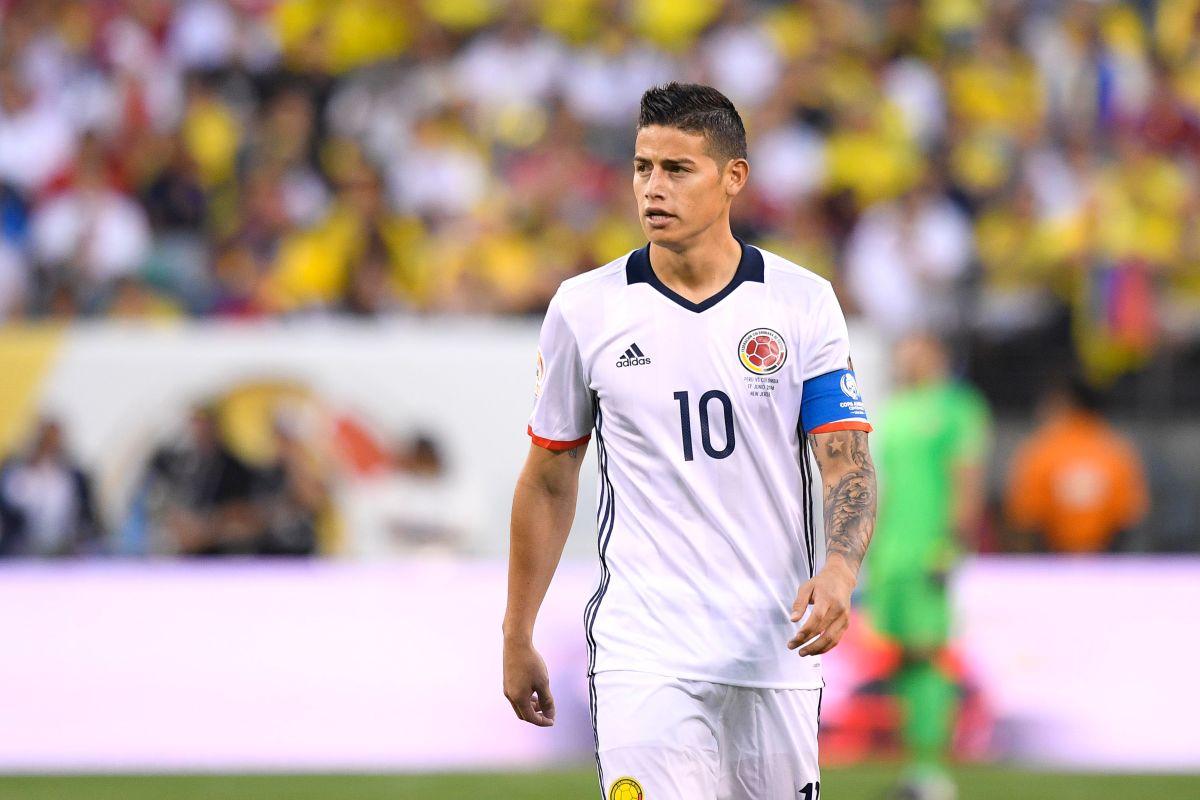 James es uno de los capitanes de la Selección Colombia