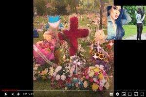 La Emperatriz Ántrax es recordada con flores y globos a un año de su trágica muerte