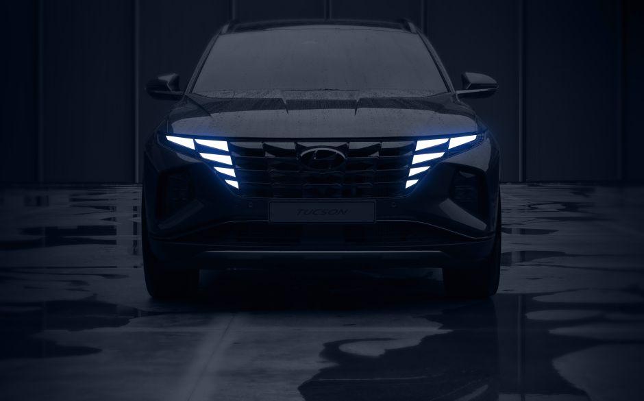 Hyundai revela las primeras imágenes oficiales del Tucson antes de su presentación