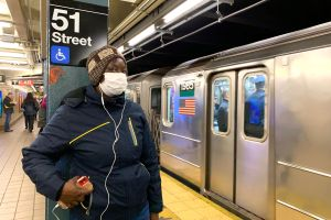 """La """"ratota humana"""" que abordó el Subway de Nueva York"""