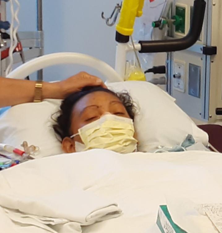 A joven madre le imponen castigo de seis meses para recibir trasplante