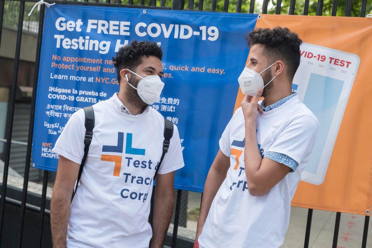 Programa ´Test + Trace' logra prevenir 15,000 potenciales casos de COVID-19 en NYC