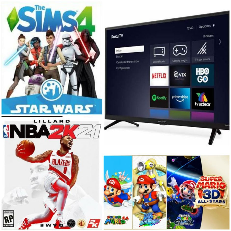 Reseña: Super Mario 3D All-Stars, Sharp Roku TV, NBA 2K21 y The Sims 4, Star Wars: Journey to Batuu