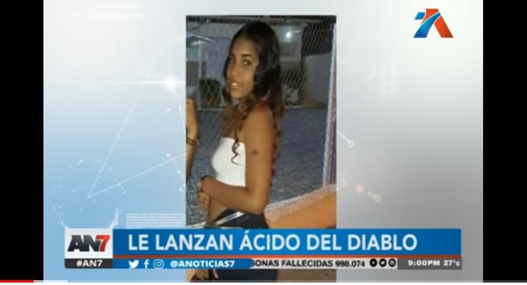 Dominicana a la que dejaron sin ojo con ácido del diablo le envía mensaje a Yocairi, también desfigurada por el químico