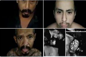 VIDEO: Sicarios interrogan y le cortan la cabeza a tres presuntos ladrones