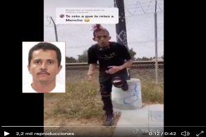 """VIDEO: """"Señor Mencho estoy muy joven para morir"""", se disculpa tiktoker que ofendió al capo"""