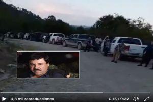 VIDEO: Cártel de Sinaloa mostró su poder antes de apelación de cadena perpetua del Chapo