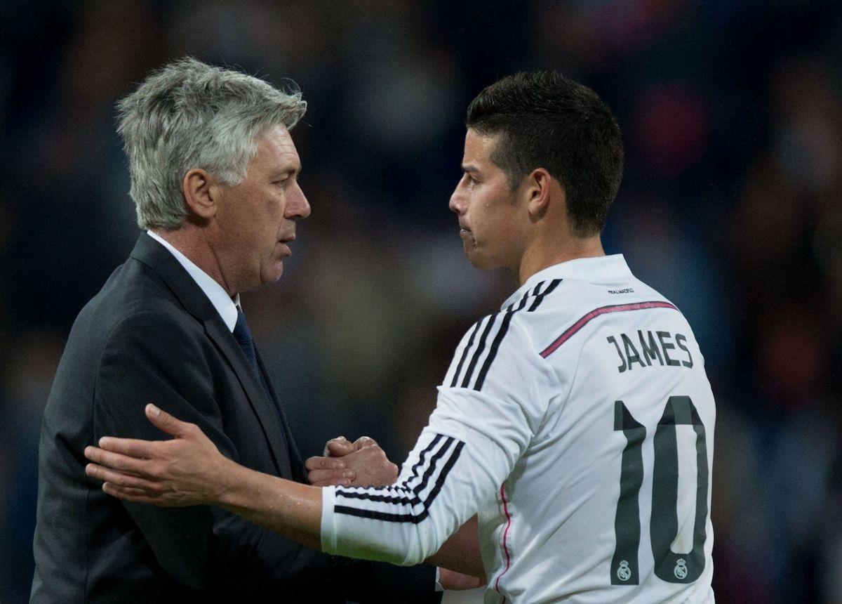 Ancelotti revela cuál fue la clave para que James Rodríguez tuviera un arranque sorprendente en la Premier League
