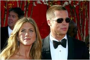 Video: Brad Pitt y Jennifer Aniston protagonizan una escena subida de tono en su reencuentro