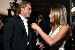 Brad Pitt no se lo pensó dos veces antes de aceptar reunirse con su ex Jennifer Aniston