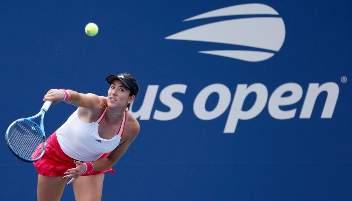 VIDEO: Garbiñe Muguruza destrozó su raqueta tras perder en el US Open