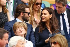 Las fotos del cariñoso encuentro de Bradley Cooper y su ex, Irina Shayk