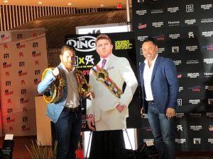Óscar de la Hoya se maneja con diplomacia ante demanda de Canelo; dijo que su malestar es con DAZN