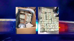 Encuentran medio millón de dólares escondidos en el cojín de un sofá