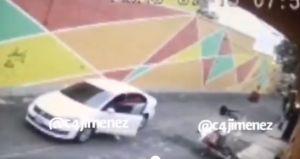 VIDEO capta intento de feminicidio en la CDMX; víctima señala como responsable a nieto del expresdiente Luis Echeverría