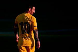 La reaparición de Leo Messi: discreta pero al menos se le vio sonreír