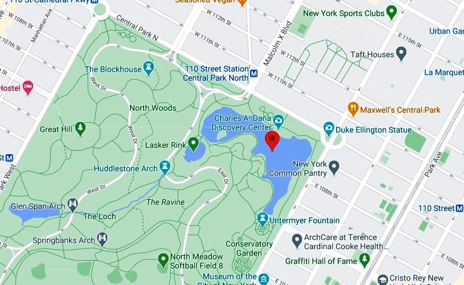 Hombre pescó un cadáver en Central Park de Nueva York: 3er muerto allí en menos de un mes