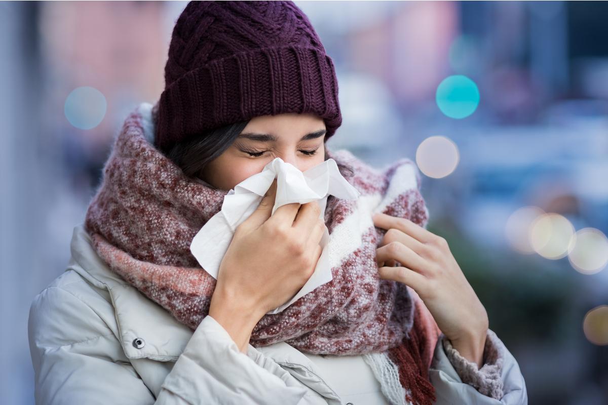 ¿Por qué se incrementan los casos de gripe en invierno?