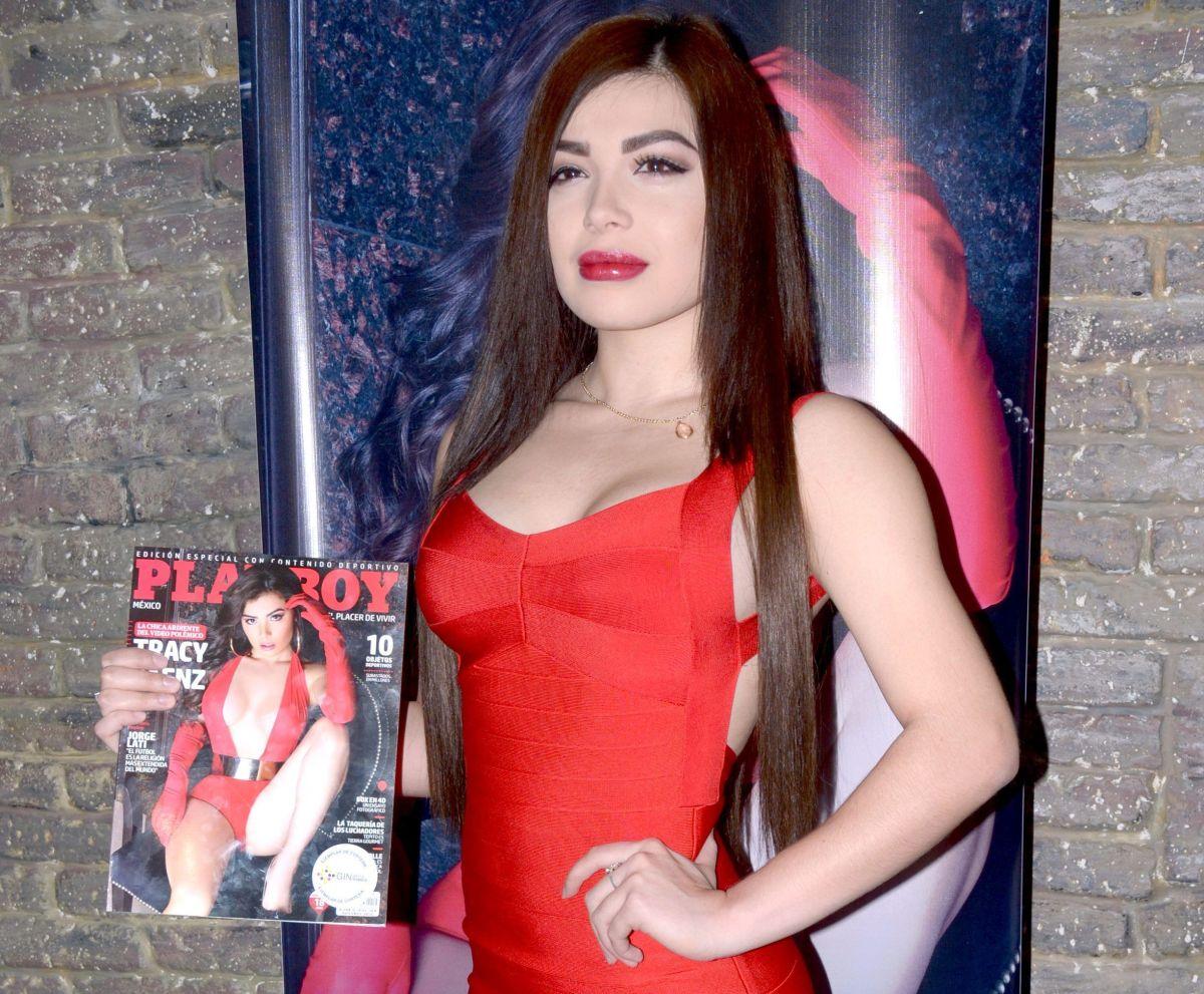 La playmate mexicana Tracy Sáenz se inclina y hace twerking en un video de infarto