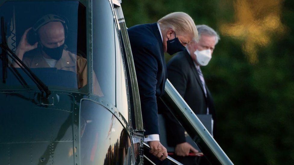 ¿Qué pasa si Trump se pone muy enfermo y no puede ejercer como presidente?
