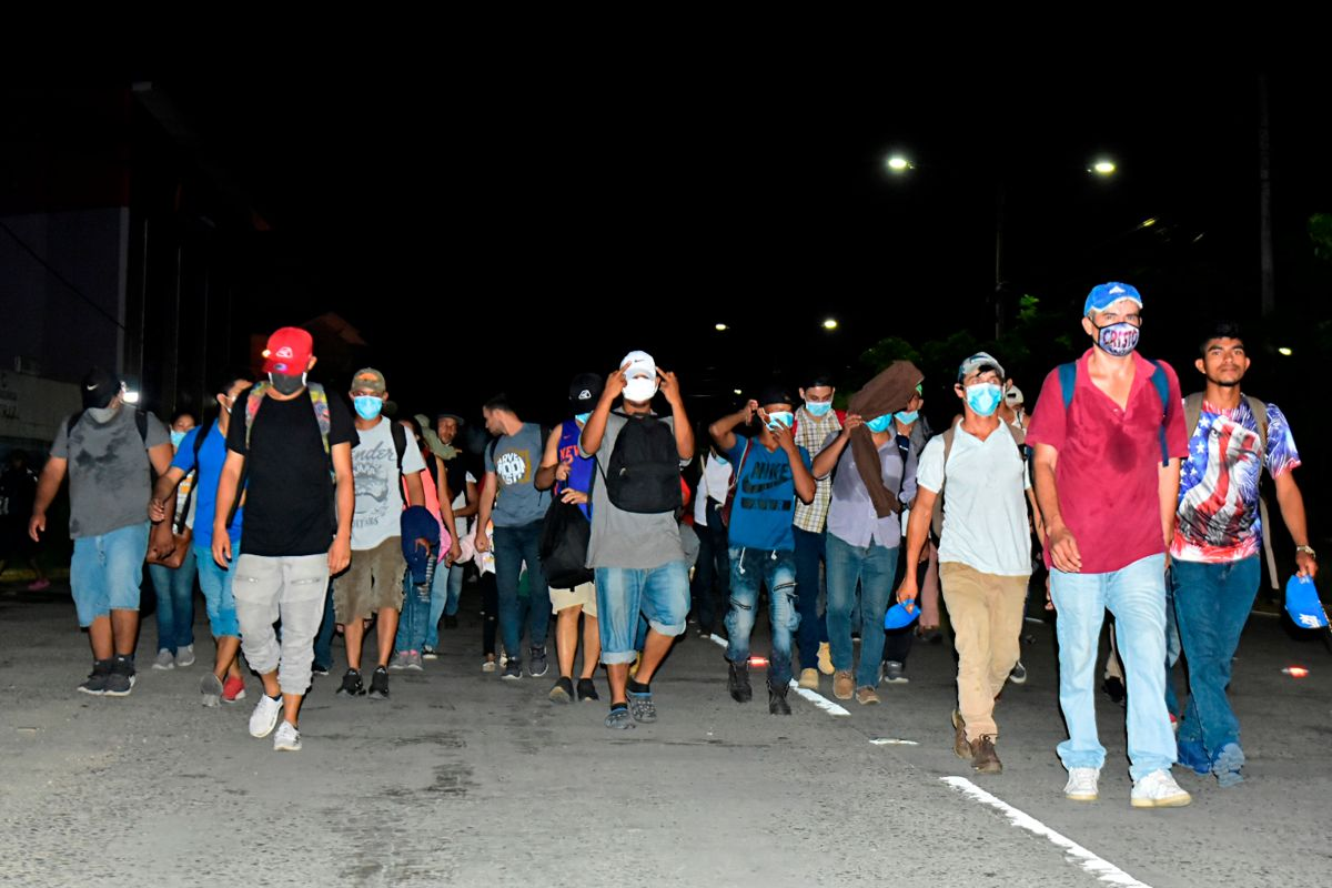 Más de 2,000 migrantes pretendían ingresar a Guatemala hacia México y luego EE.UU.
