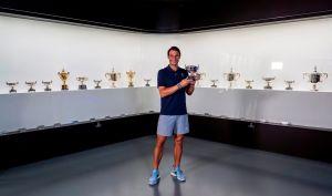 Rafael Nadal le pone pausa al tenis para jugar golf profesional