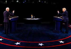 """Nueva York """"fue vibrante, está muriendo, todos se van"""": Trump al debatir con Biden"""