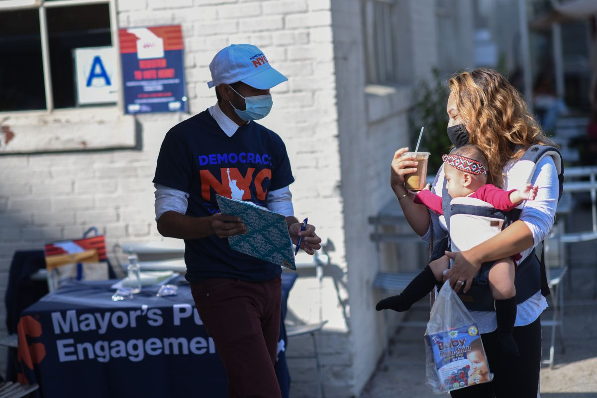Entre el 24 de octubre y el 1 de noviembre neoyorquinos podrán ejercer el voto anticipado