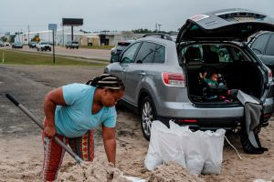 Huracán Zeta se fortalece en su rumbo al sureste de Louisiana, en Estados Unidos