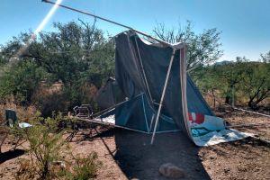 Redada en campamento de inmigrantes en la frontera acaba con la detención de 12 personas