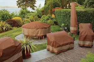 Los mejores diseños de fundas protectoras para cuidar los muebles de tu jardín en la temporada de frío