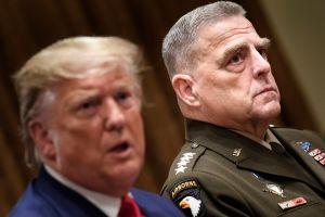 Alto jefe militar y varios mandos del Pentágono en cuarentena por coronavirus