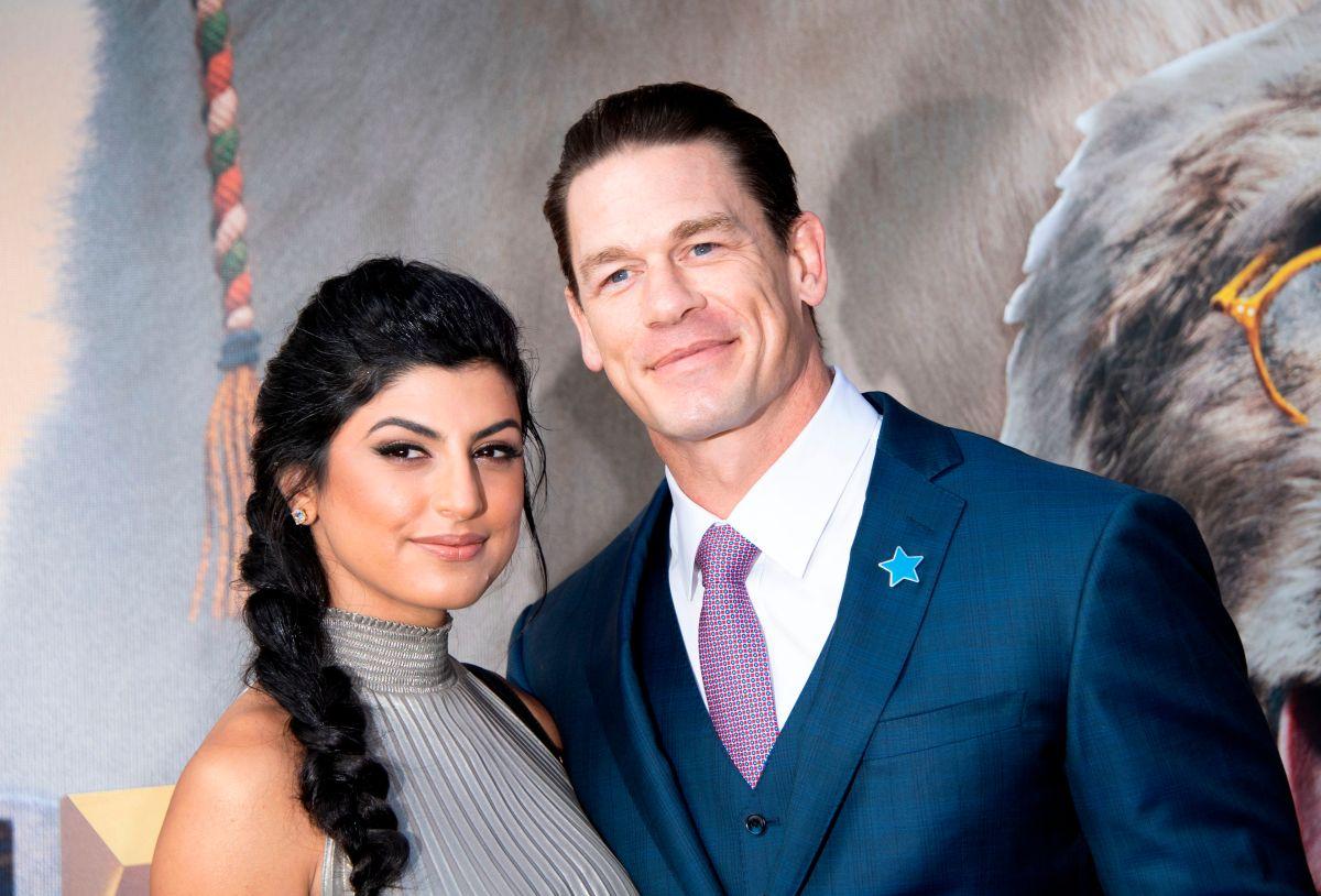 Bien guardadito lo tenía: John Cena se casó en secreto