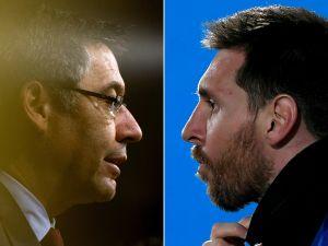 """""""No se me pasó por la cabeza dimitir por él"""": Josep María Bartomeu habló por primera vez del caso Messi"""
