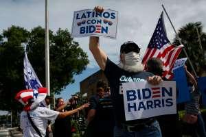 """""""Unidos con Biden"""", los mensajes que el demócrata envía a la diversidad latina"""