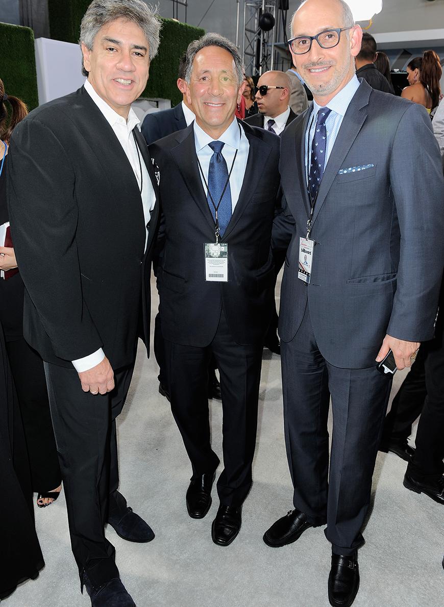 Mario Ruiz, Joe Uva y Luis Silberwasser.