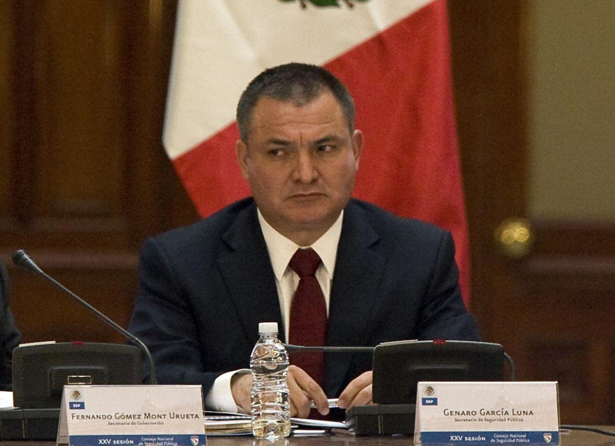 Genaro García Luna está acusado de liderar una organización criminal.
