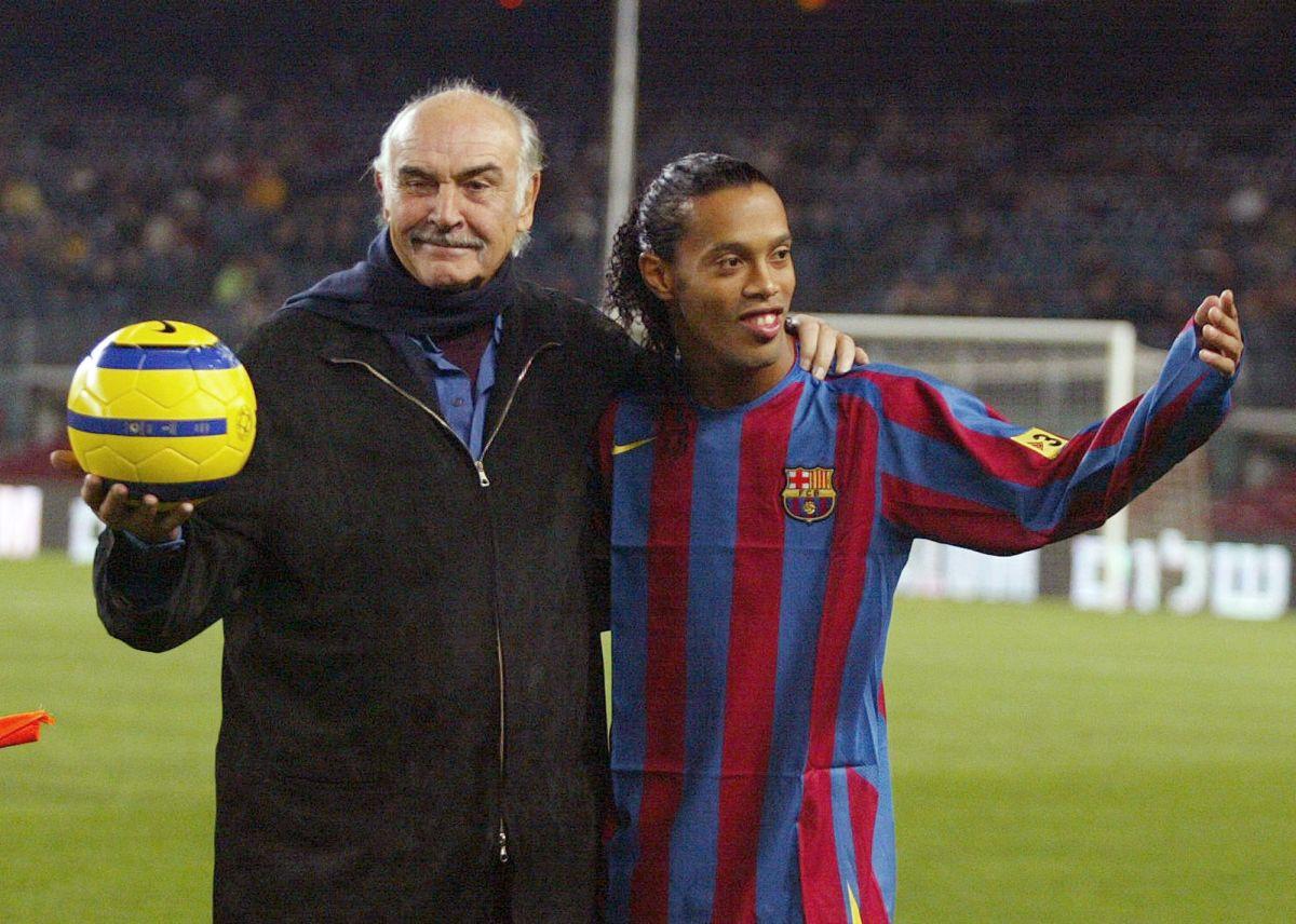 Adiós a Sean Connery, el ganador del Oscar que apoyó al Barcelona
