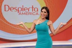 """Francisca Lachapel regresa al estudio de 'Despierta América': """"Me siento rara"""""""