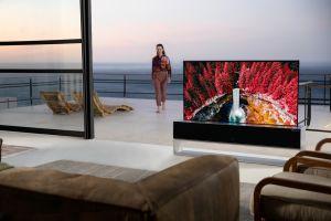 FOTOS: LG presenta su primer televisor enrollable y vale más que la mayoría de los autos