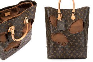 FOTOS: El bolso Louis Vuitton con hoyos y de segunda mano que se vende en $9,000 dólares