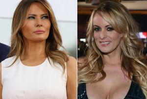 "Estrella porno Stormy Daniels responde a Melania Trump, quien la llamó ""prostituta del porno"""