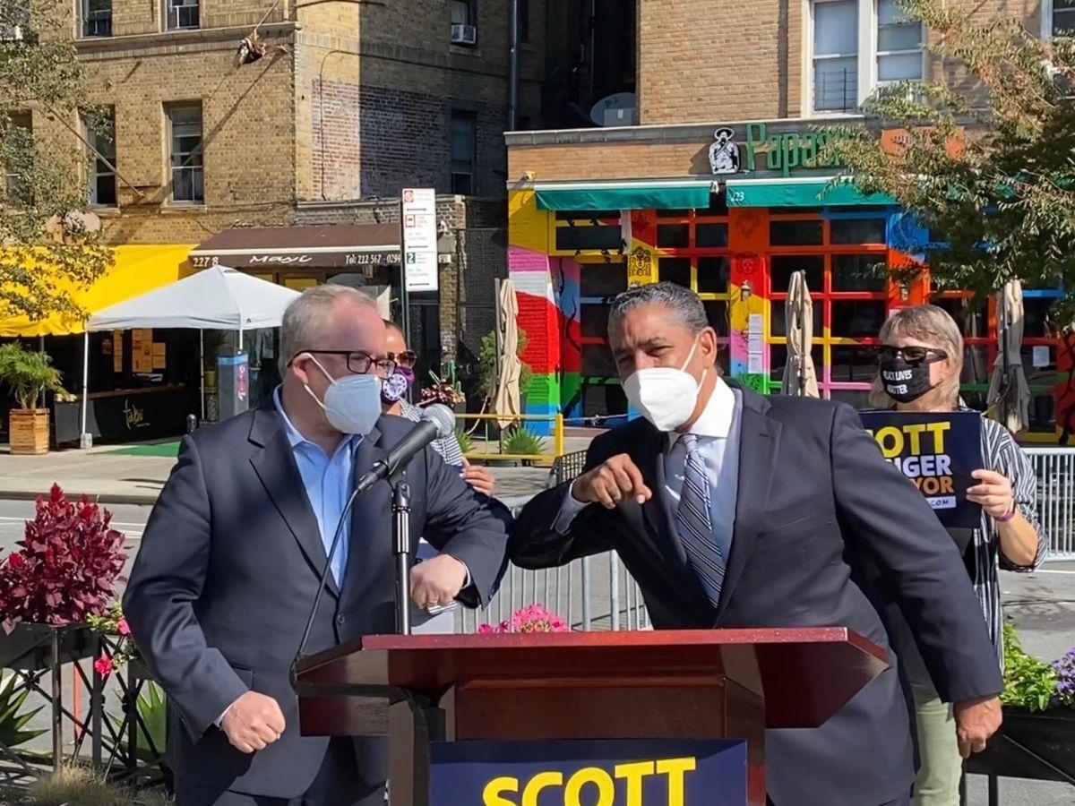 Congresista Adriano Espaillat da su apoyo a Scott Stringer para ser el próximo Alcalde de NYC