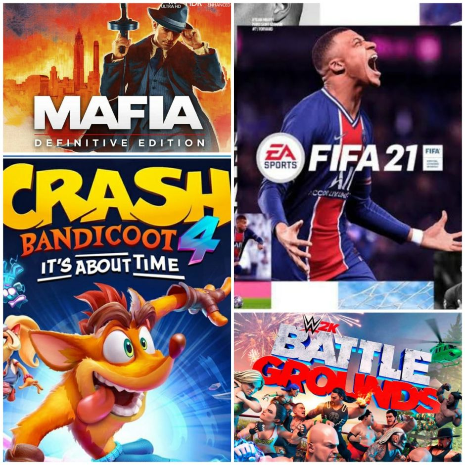 Reseña: FIFA 21, Crash Bandicoot 4: It's about time, Mafia Definitive Edition y WWE 2K Battlegrounds