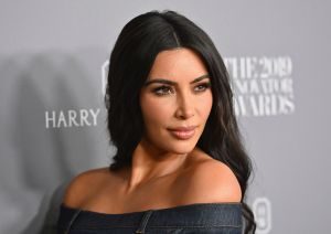 Kim Kardashian enloqueció Instagram posando sin ropa