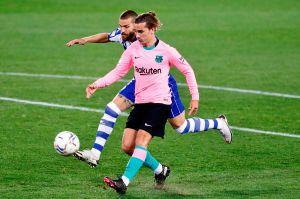 Antoine Griezmann salvó al Barcelona de un ridículo contra el Alavés