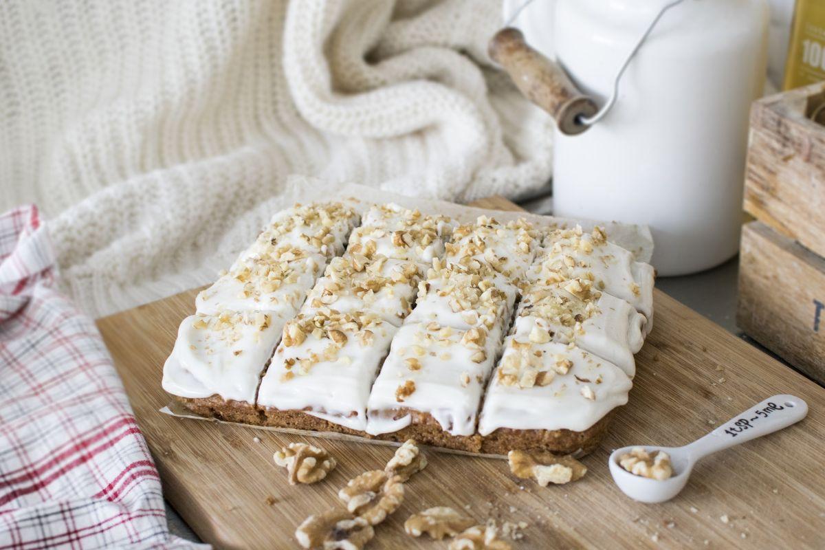 Dulce antojo ideal para adelgazar: Delicioso y saludable pastel de zanahoria, sin huevo ni grasa