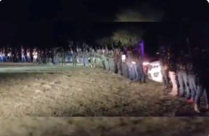 """VIDEO: """"Pura gente de El Mencho"""", advierte CJNG al cártel de Sinaloa"""