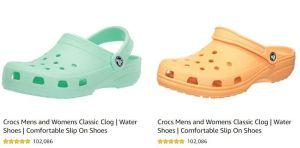 Croctober: Cómodas sandalias y zuecos Crocs que alcanzan más de 102 mil calificaciones globales