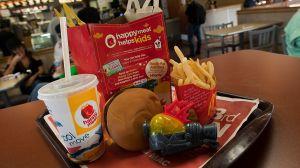 McDonald's hizo un importante cambio en sus Happy Meals
